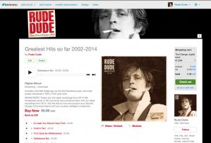 Rude Dude Greatest Hits Bandcamp