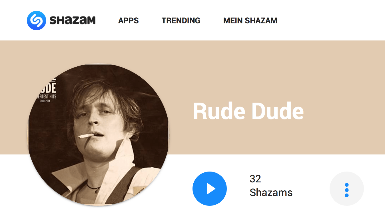 Rude Dude Shazaam